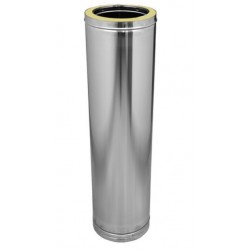 TUBO INOX  DOBLE PARED  1 METRO