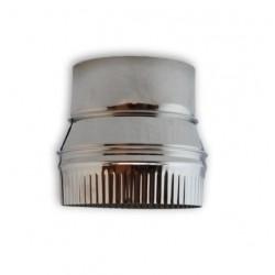 REDUCCION 200 MACHO - 150 HEMBRA EN INOX
