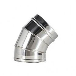 CODO 45º INOX DOBLE PARED 200/250 MM